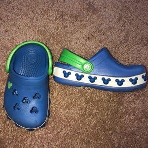 Crocs Kids Crocband Mickey Mouse IV Clog